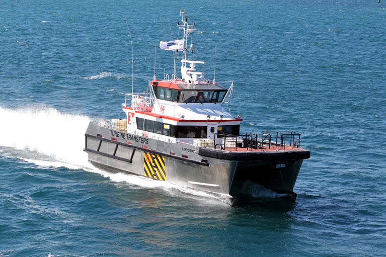 Austal Wind Farm SUpport Ship