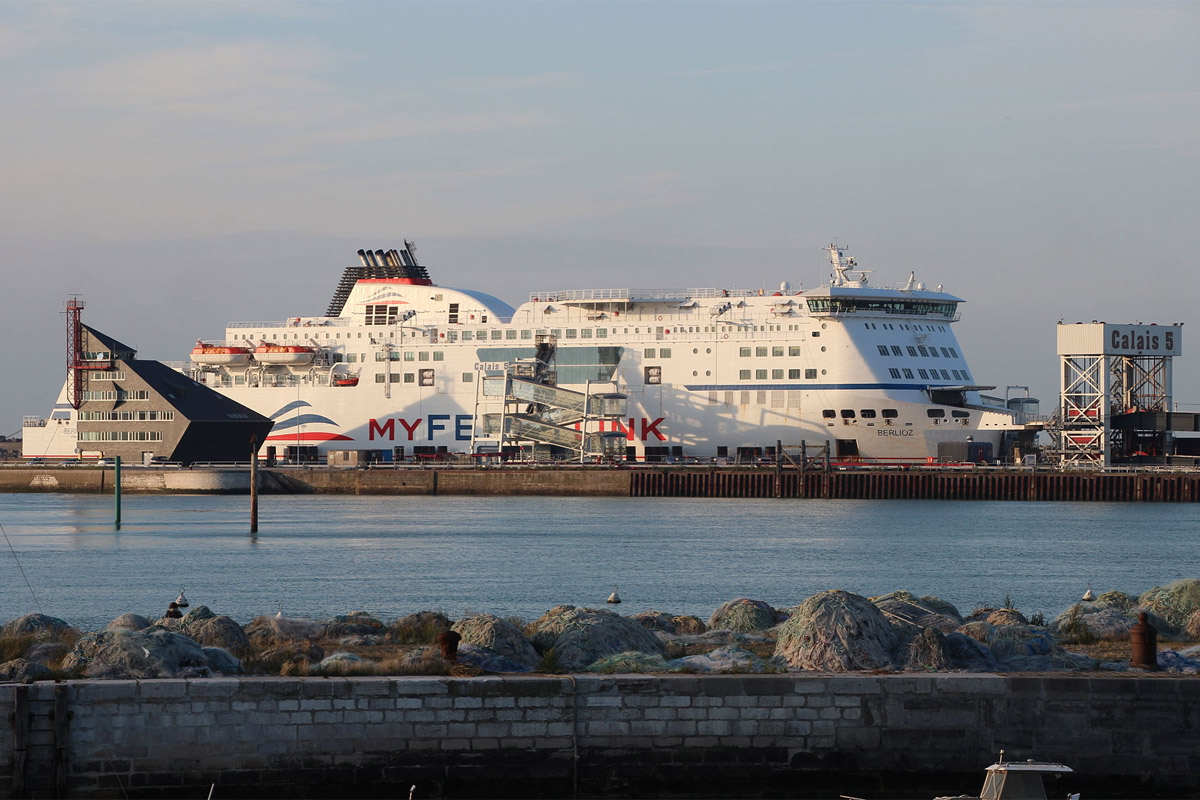MyFerryLink Ferry at the Port of Callais