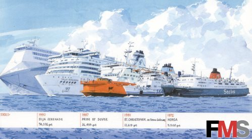 Artwork - Ship evolution
