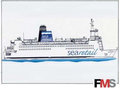 Artwork - Vessel with Searetail logo