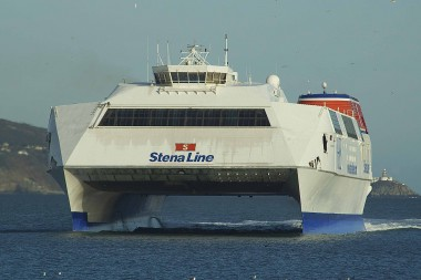 <em>Stena Explorer</em> makes final journey on Irish Sea