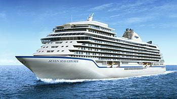<em>Seven Seas Explorer</em> launched