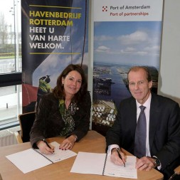 Ports of Amsterdam and Rotterdam solidify their partnership
