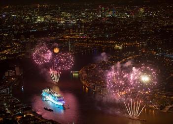Viking Ocean Cruises christens 2nd ship in London