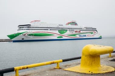 Tallink's new LNG ferry <em>Megastar</em> sets sail