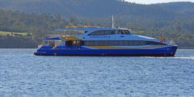 My Fast Ferries' new vessel <em>Ocean Adventurer </em>delivered