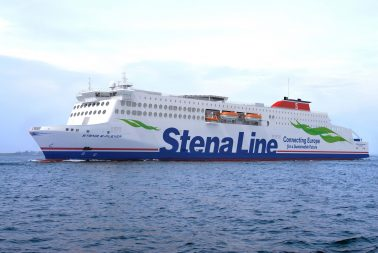 Stena Line's three Irish Sea E-Flexer ships now in construction