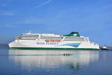 Irish Ferries receives best-ever Christmas Gift – a New Ferry!