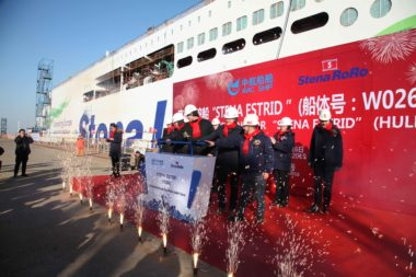 <em>Stena Estrid </em>enters next phase of construction