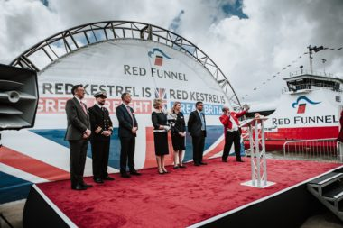 Red Funnel welcomes new freight vessel